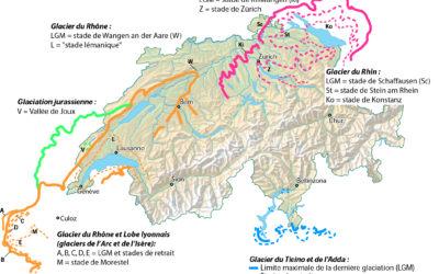 4.4 Les glaciations du Pléistocène